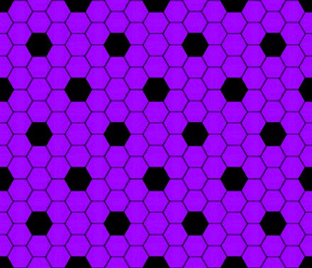Click to get the codes for this image. Purple And Black Hexagon Tile Seamless Background Pattern, Tile, Purple Background Wallpaper Image or texture free for any profile, webpage, phone, or desktop