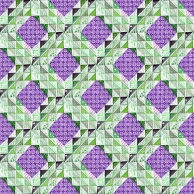Click to get the codes for this image. Purple And Green Quilt Pattern Seamless, Quilts, Purple, Cloth Background Wallpaper Image or texture free for any profile, webpage, phone, or desktop