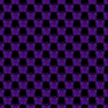 Click to get the codes for this image. Purple Butterflies On Black, Purple, Butterflies Background Wallpaper Image or texture free for any profile, webpage, phone, or desktop