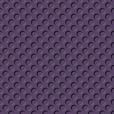 Click to get the codes for this image. Purple Gray Indented Circles Background Seamless, Beveled and Indented, Circles, Purple Background Wallpaper Image or texture free for any profile, webpage, phone, or desktop