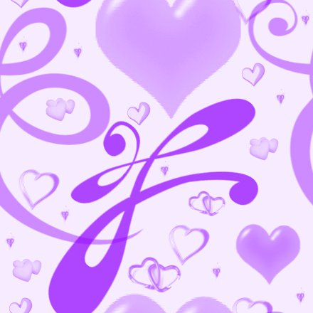 Click to get the codes for this image. Purple Hearts And Swirls Background Seamless, Hearts, Purple Background Wallpaper Image or texture free for any profile, webpage, phone, or desktop