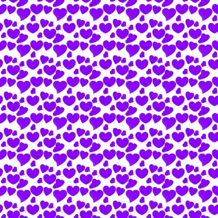 Click to get the codes for this image. Purple Hearts On White, Hearts, Purple Background Wallpaper Image or texture free for any profile, webpage, phone, or desktop