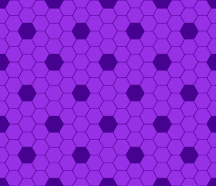 Click to get the codes for this image. Purple Hexagon Tile Seamless Background Pattern, Tile, Purple Background Wallpaper Image or texture free for any profile, webpage, phone, or desktop