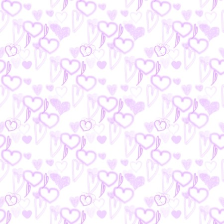 Click to get the codes for this image. Purple Pastel Random Hearts, Hearts, Purple Background Wallpaper Image or texture free for any profile, webpage, phone, or desktop