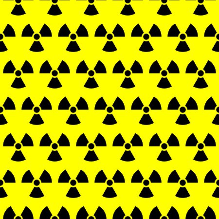 Click to get the codes for this image. Radiation Warning Signs Background Seamless, Street Signs, Yellow Background Wallpaper Image or texture free for any profile, webpage, phone, or desktop