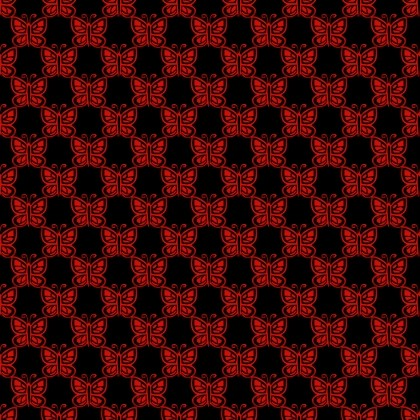 Click to get the codes for this image. Red Butterflies On Black, Red, Butterflies Background Wallpaper Image or texture free for any profile, webpage, phone, or desktop