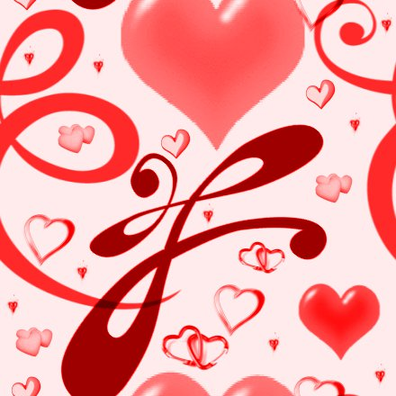 Click to get the codes for this image. Red Hearts And Swirls Background Seamless, Hearts, Red Background Wallpaper Image or texture free for any profile, webpage, phone, or desktop