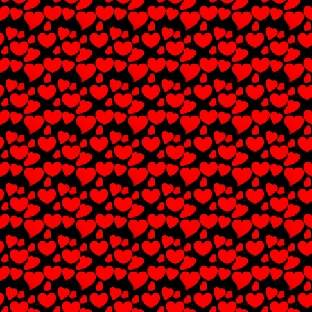 Click to get the codes for this image. Red Hearts On Black, Hearts, Red Background Wallpaper Image or texture free for any profile, webpage, phone, or desktop