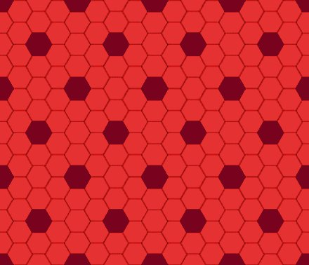 Click to get the codes for this image. Red Hexagon Tile Seamless Background Pattern, Tile, Red Background Wallpaper Image or texture free for any profile, webpage, phone, or desktop