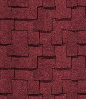 Click to get the codes for this image. Red Interlocking Roof Shingles Background Seamless, Shingles  Roofs, Red Background Wallpaper Image or texture free for any profile, webpage, phone, or desktop