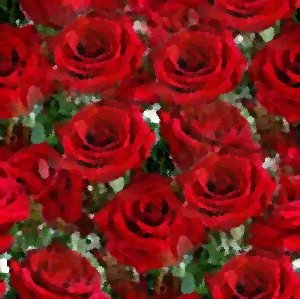 Click to get the codes for this image. Red Roses Seamless Painting, Red, Artistic, Flowers Background Wallpaper Image or texture free for any profile, webpage, phone, or desktop