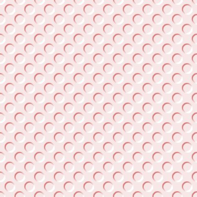 Click to get the codes for this image. Rose Colored Indented Circles Background Seamless, Beveled and Indented, Circles, Pink, Red Background Wallpaper Image or texture free for any profile, webpage, phone, or desktop