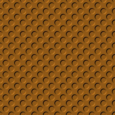 Click to get the codes for this image. Rust Brown Indented Circles Background Seamless, Beveled and Indented, Circles, Brown Background Wallpaper Image or texture free for any profile, webpage, phone, or desktop