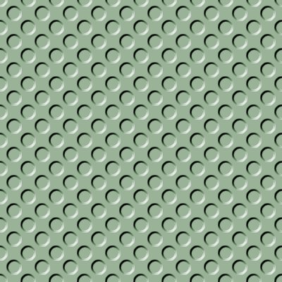 Click to get the codes for this image. Sage Green Indented Circles Background Seamless, Beveled and Indented, Circles, Green Background Wallpaper Image or texture free for any profile, webpage, phone, or desktop