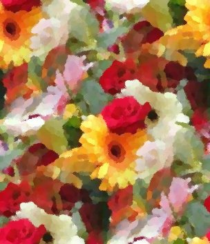Click to get the codes for this image. Seamless Flowers Painting, Artistic, Flowers Background Wallpaper Image or texture free for any profile, webpage, phone, or desktop