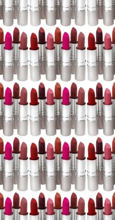 Click to get the codes for this image. Seamless Lipsticks, Fashion Background Wallpaper Image or texture free for any profile, webpage, phone, or desktop