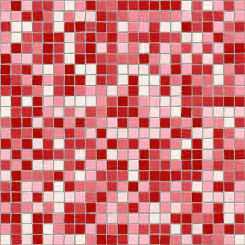 Click to get the codes for this image. Seamless Mosaic Tile Red Background Pattern, Checkers and Squares, Tile, Red Background Wallpaper Image or texture free for any profile, webpage, phone, or desktop