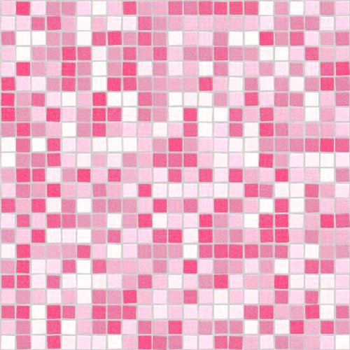 Click to get the codes for this image. Seamless Pink Mosaic Tile Background Pattern, Checkers and Squares, Tile, Pink Background Wallpaper Image or texture free for any profile, webpage, phone, or desktop