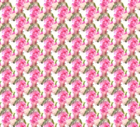 Click to get the codes for this image. Seamless Pink Roses Painting, Pink, Flowers, Artistic Background Wallpaper Image or texture free for any profile, webpage, phone, or desktop