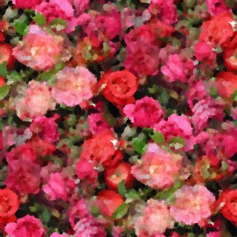 Click to get the codes for this image. Seamless Roses Painting, Flowers, Artistic Background Wallpaper Image or texture free for any profile, webpage, phone, or desktop