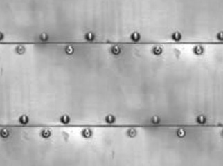 Click to get the codes for this image. Sheet Metal With Bolts Background Seamless, Metallic, Gray, Silver Background Wallpaper Image or texture free for any profile, webpage, phone, or desktop