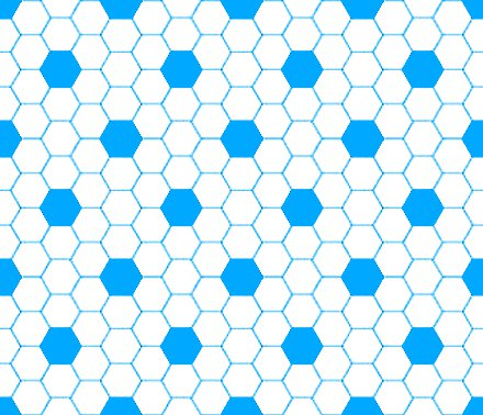 Click to get the codes for this image. Sky Blue And White Hexagon Tile Seamless Background Pattern, Tile, Blue Background Wallpaper Image or texture free for any profile, webpage, phone, or desktop