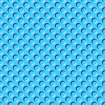 Click to get the codes for this image. Sky Blue Indented Circles Background Seamless, Beveled and Indented, Circles, Blue Background Wallpaper Image or texture free for any profile, webpage, phone, or desktop