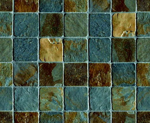 Click to get the codes for this image. Slate Tile Background Blue Brown Seamless, Rock Stone Dirt etc, Tile, Brown, Blue Background Wallpaper Image or texture free for any profile, webpage, phone, or desktop