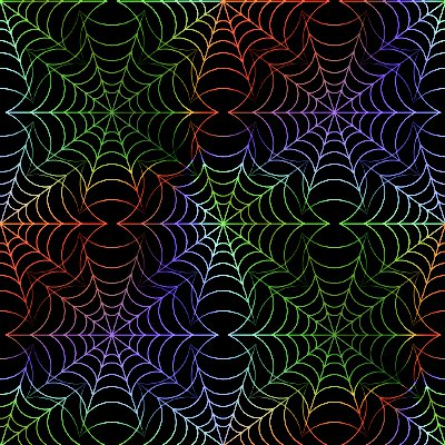 Click to get the codes for this image. Spiderweb Seamless Background Texture Multi-Colored, Bugs  Insects, Rainbow Background Wallpaper Image or texture free for any profile, webpage, phone, or desktop