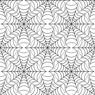 Click to get the codes for this image. Spiderweb Seamless Background Texture White, Bugs  Insects, Black and White Background Wallpaper Image or texture free for any profile, webpage, phone, or desktop