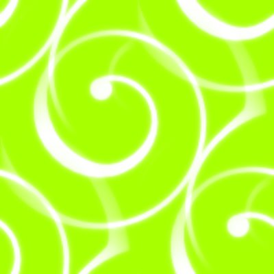 Click to get the codes for this image. Spiral Squiggles On Chartreuse Seamless Wallpaper, Spirals, Green Background Wallpaper Image or texture free for any profile, webpage, phone, or desktop