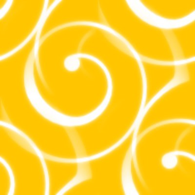 Click to get the codes for this image. Spiral Squiggles On Goldenrod Seamless Wallpaper, Spirals, Yellow, Gold Background Wallpaper Image or texture free for any profile, webpage, phone, or desktop