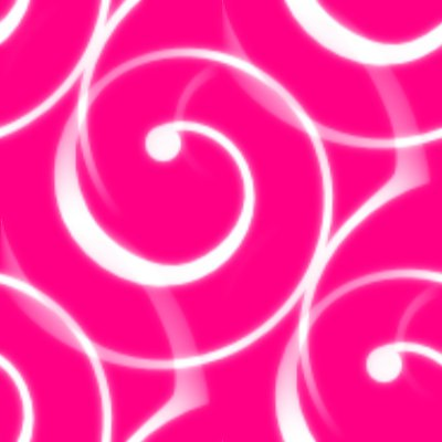 Click to get the codes for this image. Spiral Squiggles On Hot Pink Seamless Wallpaper, Spirals, Pink Background Wallpaper Image or texture free for any profile, webpage, phone, or desktop
