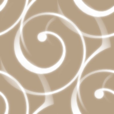 Click to get the codes for this image. Spiral Squiggles On Tan Seamless Wallpaper, Spirals, Brown Background Wallpaper Image or texture free for any profile, webpage, phone, or desktop