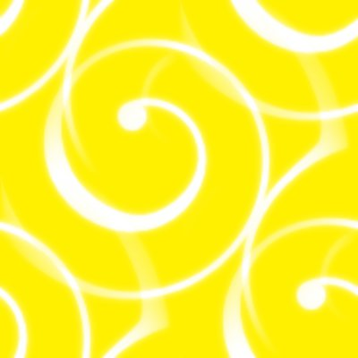 Click to get the codes for this image. Spiral Squiggles On Yellow Seamless Wallpaper, Spirals, Yellow Background Wallpaper Image or texture free for any profile, webpage, phone, or desktop