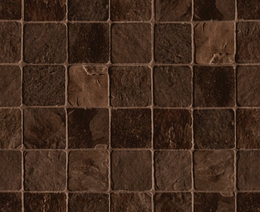Stone Tile Background Dark Brown Seamless