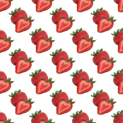 Click to get the codes for this image. Strawberry Love Background Seamless, Food  Drink, Hearts Background Wallpaper Image or texture free for any profile, webpage, phone, or desktop