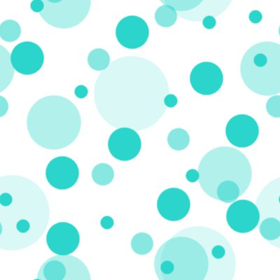 Click to get the codes for this image. Turquoise Random Circle Dots Seamless Background, Circles, Polka Dots, Aqua Background Wallpaper Image or texture free for any profile, webpage, phone, or desktop