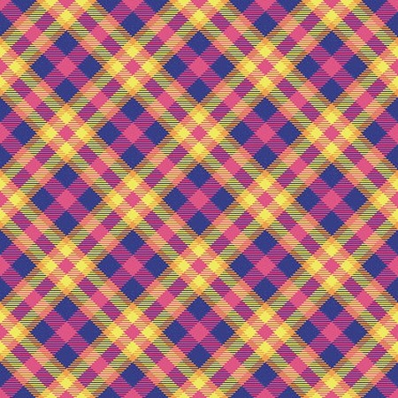 Click to get the codes for this image. Yellow Blue And Pink Seamless Plaid, Plaid Background Wallpaper Image or texture free for any profile, webpage, phone, or desktop