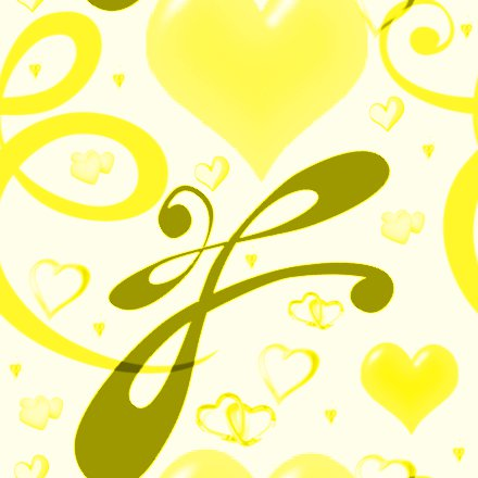 Click to get the codes for this image. Yellow Hearts And Swirls Background Seamless, Hearts, Yellow Background Wallpaper Image or texture free for any profile, webpage, phone, or desktop