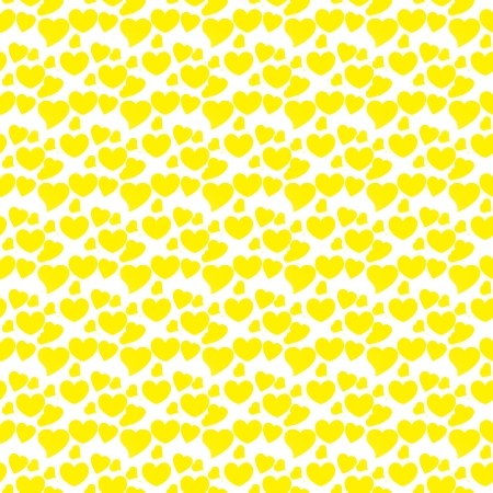 Click to get the codes for this image. Yellow Hearts On White, Yellow, Hearts Background Wallpaper Image or texture free for any profile, webpage, phone, or desktop
