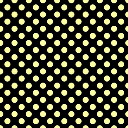 Click to get the codes for this image. Yellow Polkadots On Black, Yellow, Polka Dots Background Wallpaper Image or texture free for any profile, webpage, phone, or desktop