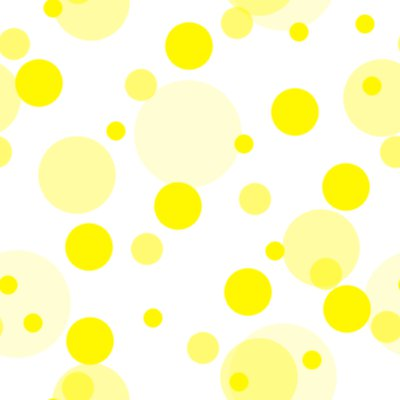 Click to get the codes for this image. Yellow Random Circle Dots Seamless Background, Circles, Polka Dots, Yellow Background Wallpaper Image or texture free for any profile, webpage, phone, or desktop
