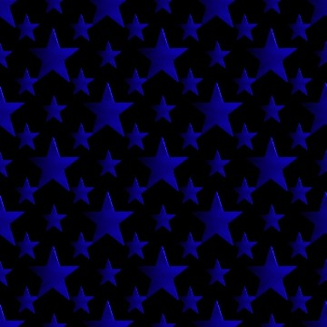 Black And Blue Stars Backgrounds 3d Blue Stars W...
