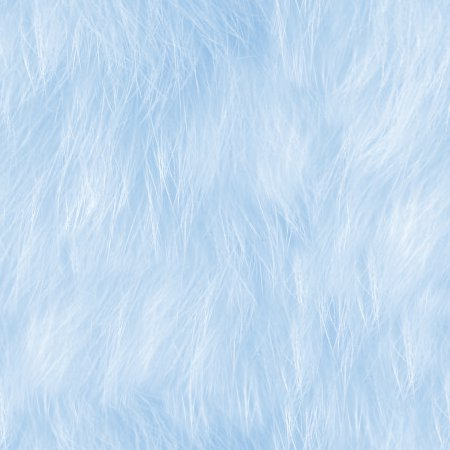 Baby Blue Faux Fur Seamless Background Texture Pattern