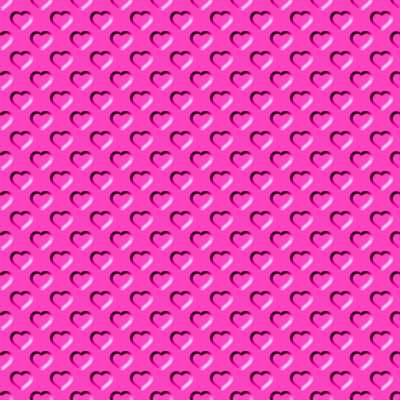 Beveled Hot Pink Hearts Background Seamless Background Or ...