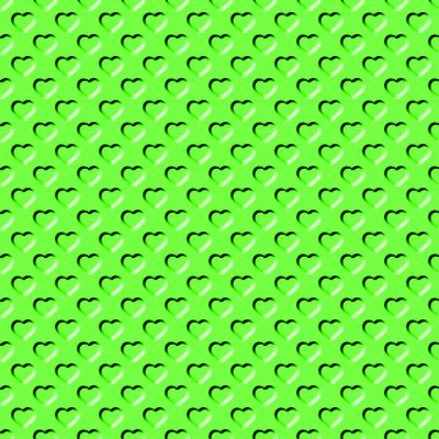 green hearts background - photo #26