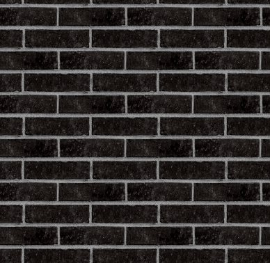 Black Bricks Wall Seamless Background Texture Background