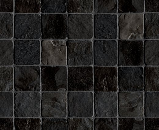 Black Stone Tile Background Seamless Background Or