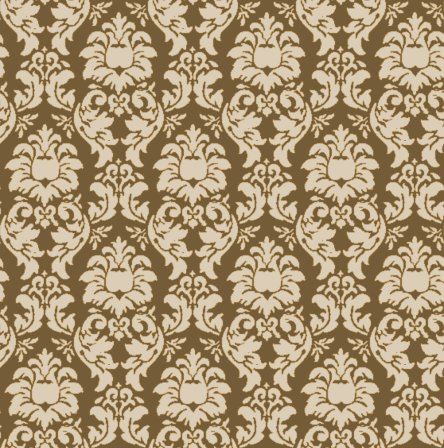 Product Information Leaf Damask Wallpaper Color Metallic Green